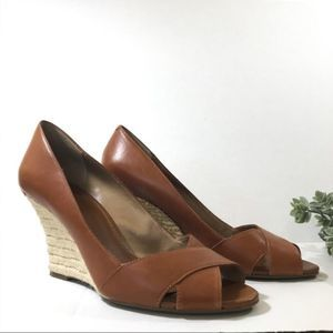 Banana Republic Sarita Espadrille Wedges Size 10